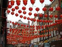 旧正月の中華街