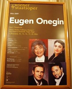 Eugen Oneginポスター